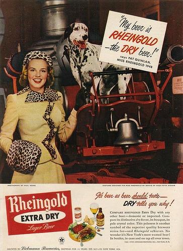 Beer Miss Rheingold 1948