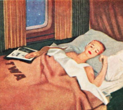 Travel Airline TWA sleeperette