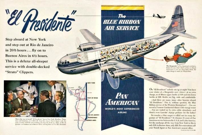 Travel Pan Am El Presidente ad