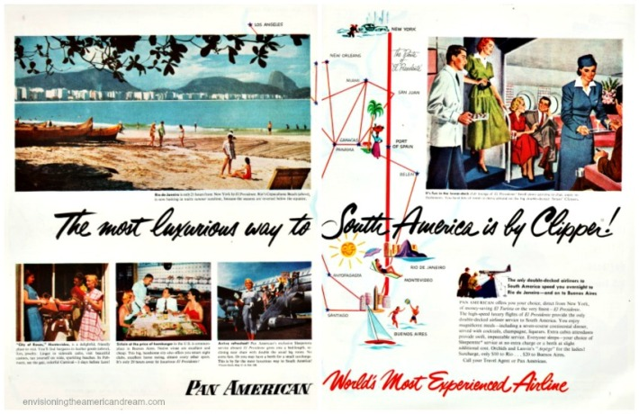 Travel ad Pan American Luxory South America