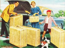 Vintage Vacation Samsonite Luggage Ad