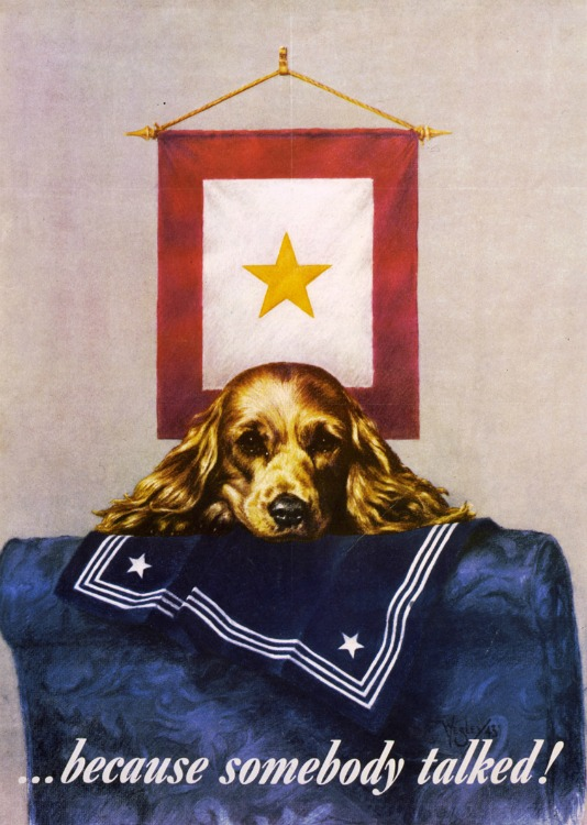 WWII Poster Gold Star 1944