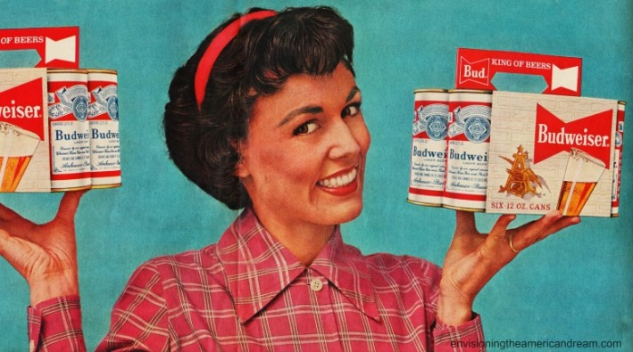 beer-budweiser-vintage ad housewife