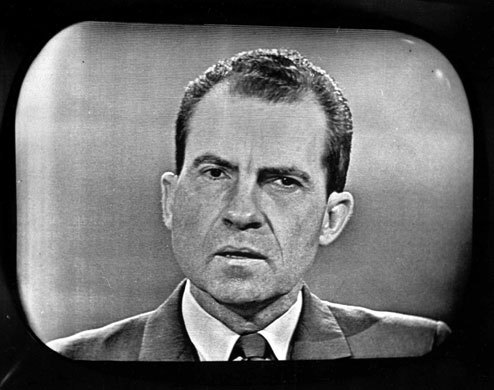 Richard Nixon on TV debate 1960