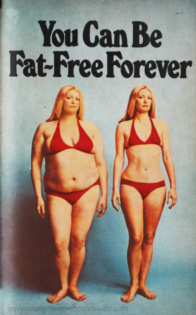 diet-book-cover fat and thin woman