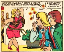 Vintage Millie The Model Comic