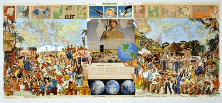 sally-edelstein-ambassador-of-peace-we-are-friends-art-collage
