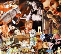 Sally Edelstein collage appropriated images
