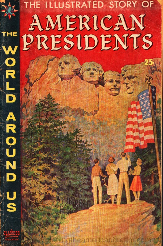 comic book -illustrated-story-american-presidents classics illustrated