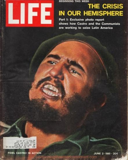 Fidel Castro cover Life Magazine