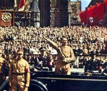Adolph Hitler Nazi rally