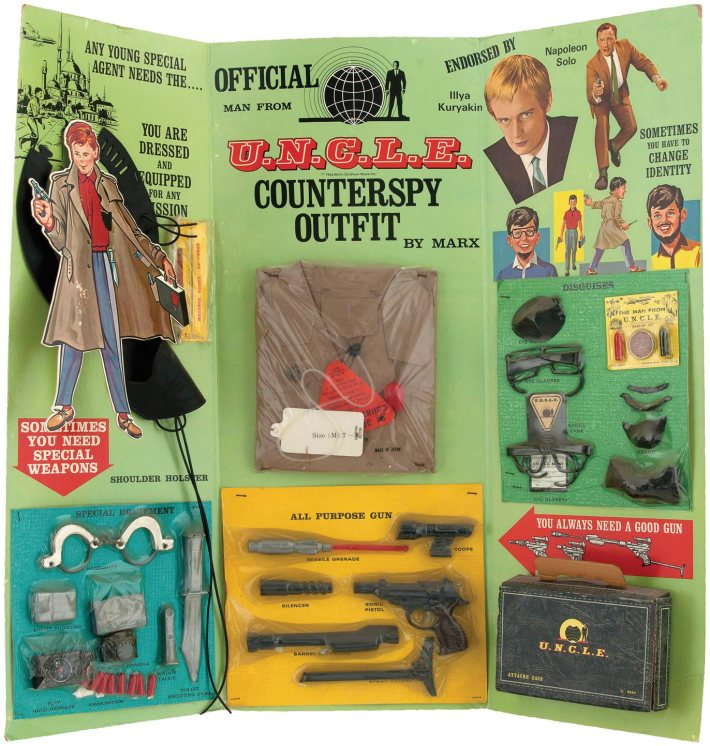 man-from-uncle-counterspy toy set