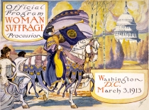 womans suffragette program