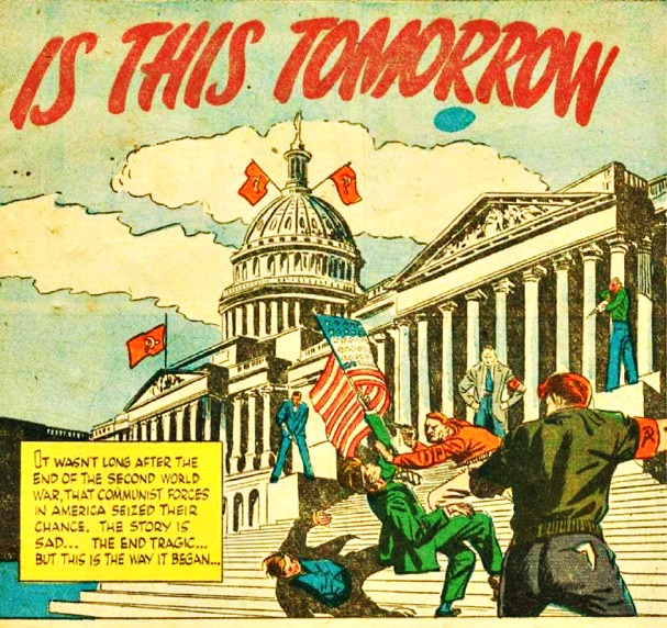 """Is This Tomorrow Comic"" Book 1947"
