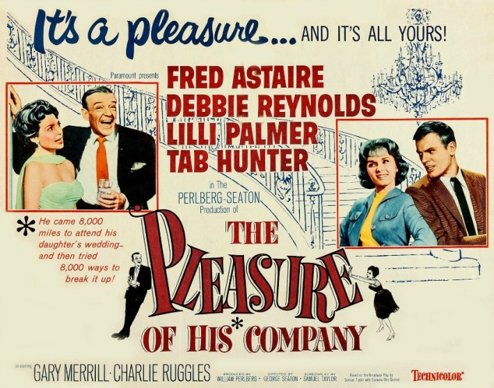 Movie poster The Pleasure of His Company