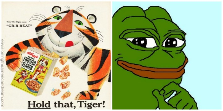 tony-tiger-pepe the frog