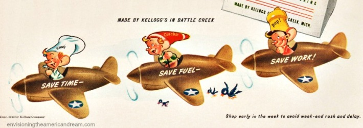 wwii Snap Krackle Pop Rice Krispies