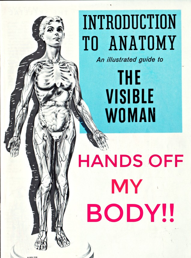 womens march poster Hands off My Body