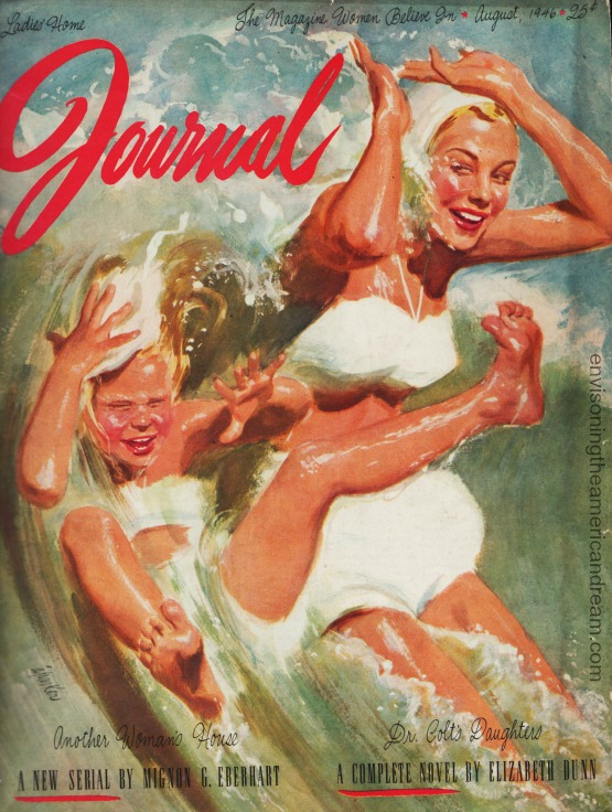 magazine-cover-lhj-al-parker mother daughter swimming