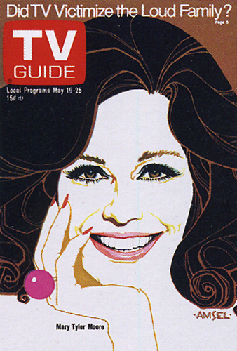 mary-tyler moore TV Guide Cover