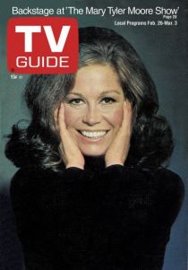 Mary Tyler Moore TV Guide Cover