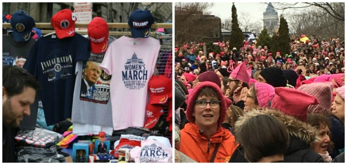 womens-march-and-trump-merchandise