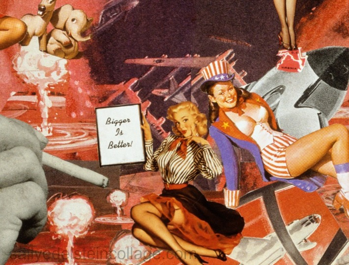 sally-edelstein-art-collage-appropriated vintage images -cold war