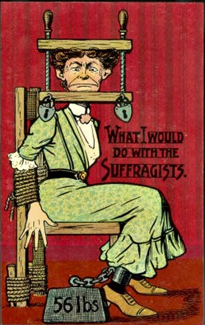 Vintage postcard for suffragettes-what-i-would-do