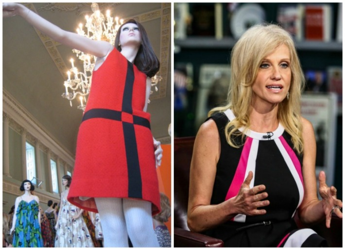 1960s dress and KellyanneConway