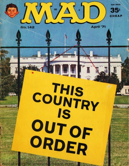 MAD Magazine cover April 1971