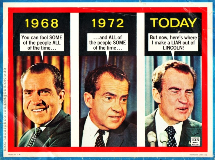 MAD Magazine September 1973 Richard Nixon
