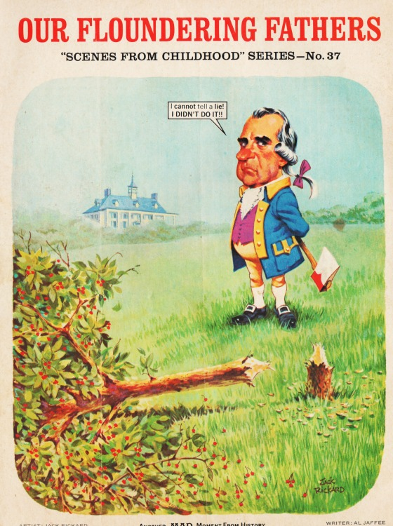 MAD Magazine April 1974 Richard Nixon