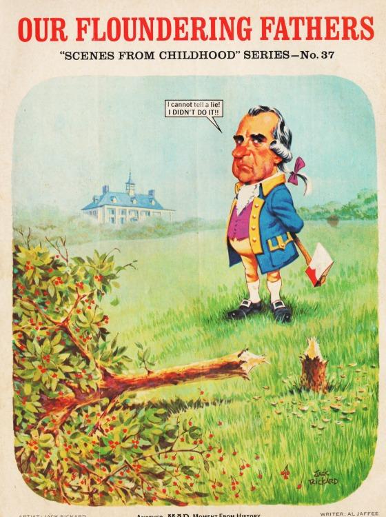 MAD Magazine April 1974 Richard Nixon