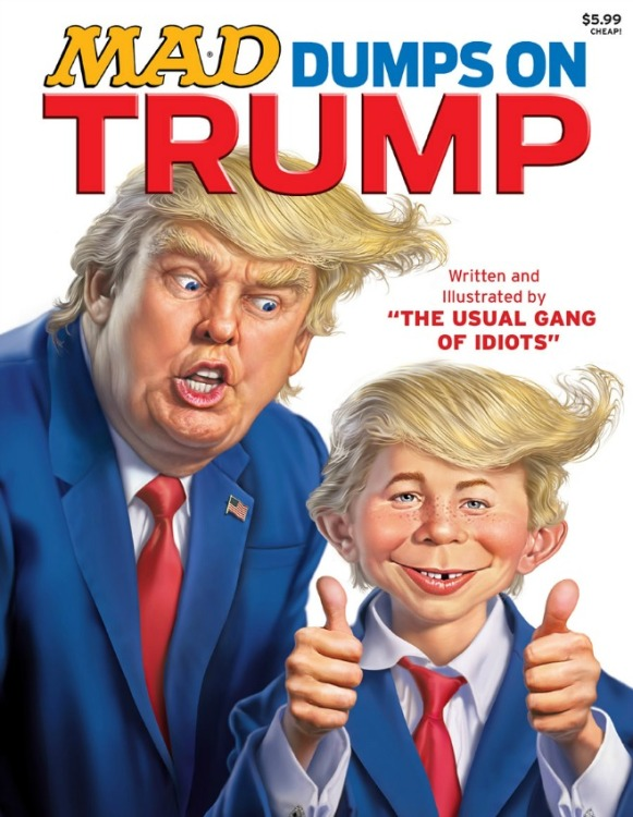 MAD Magazine December 2015 Donald Trump