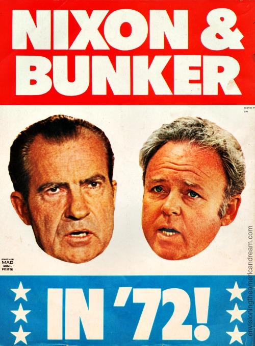 MAD Magazine Nixon and Archie Bunker
