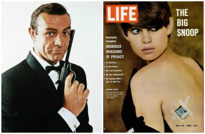 James Bond and Life Magazine on Spying
