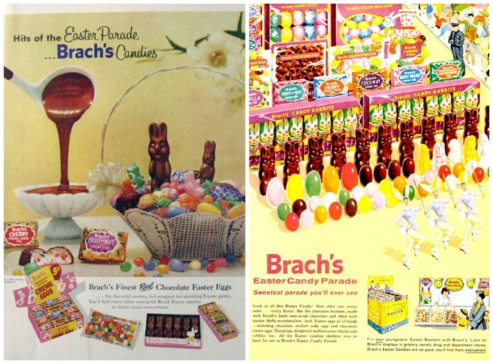 Vintage ads Brach's Easter Candy Parade