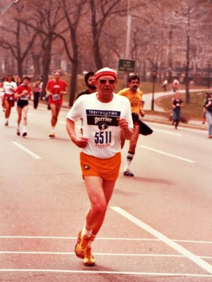 marathon runner 1970s