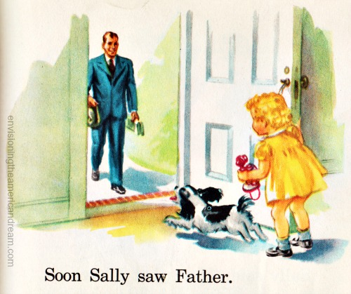 vintage illustration Fun With Dick and Jane 1951