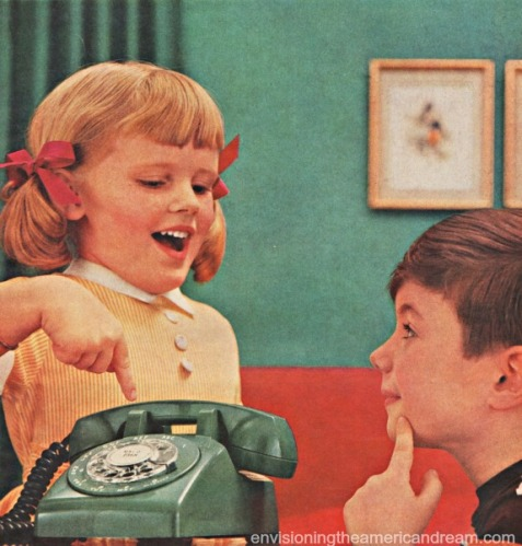 Vintage Bell Telephone Ad
