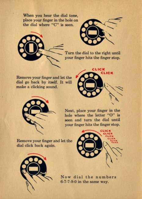 How to Use A Rotary Phone Instructions