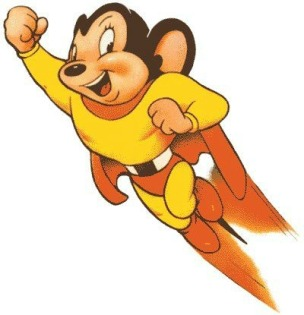 Mighty Mouse Cartoon