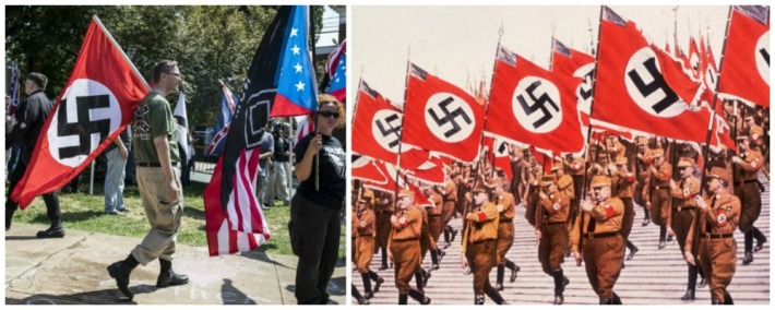 Nazis then and now