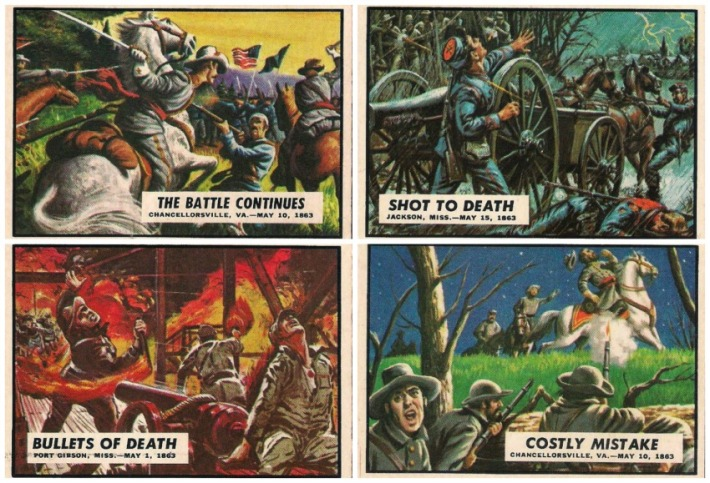 Civil War News Bubble Gum Trading Cards