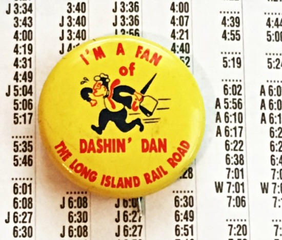Dashing Dan Symbol of LIRR