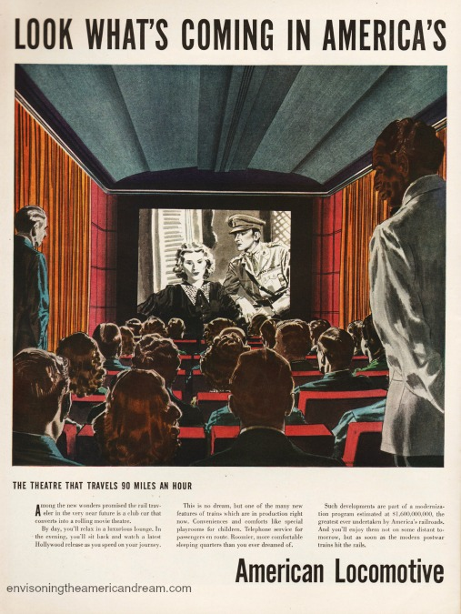 Vintage Ad 1946 American Locamotive