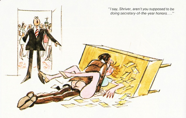 Vintage Cartoon Penthouse Magazine January 1976