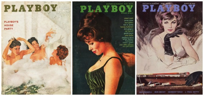Vintage Playboy Magazine Covers 1960's