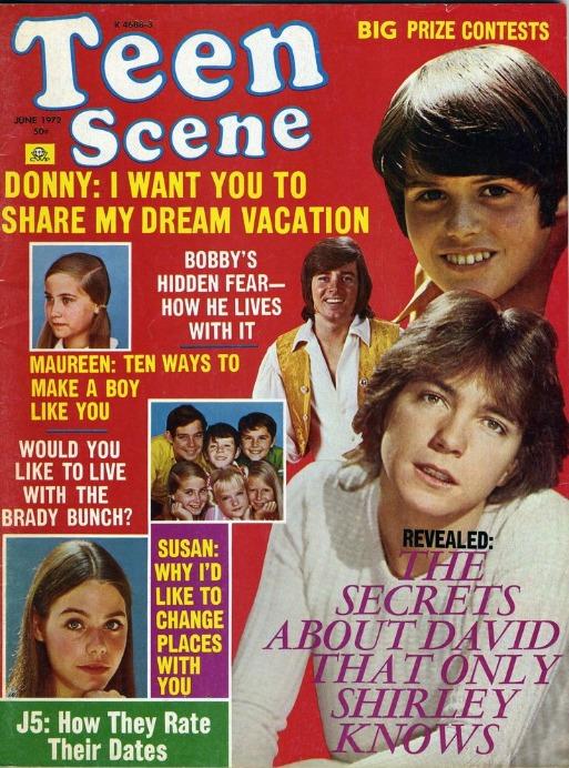 Teen Scene Magazine 1972