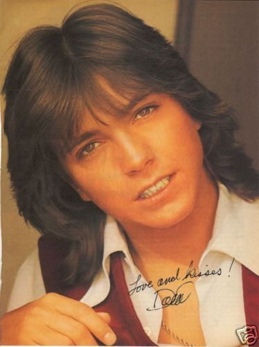 Autograph Picture of David Cassidy